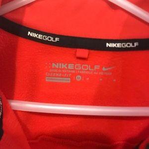 Boys Nike 3/4 zip pull over
